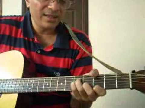 Paartha Mudhal Naale by Harris Jayaraj guitar song lesson by Suresh ...