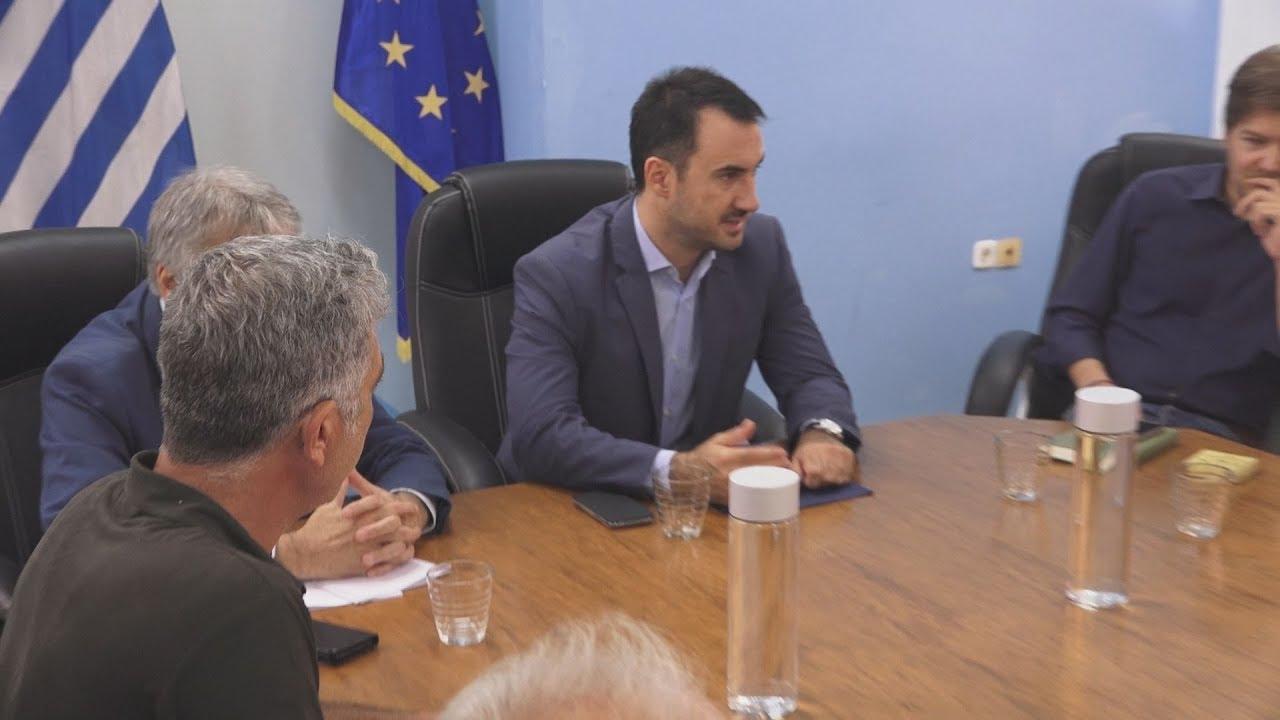 Συνάντηση του υπουργού Εσωτερικών με την ΠΟΕ – ΟΤΑ