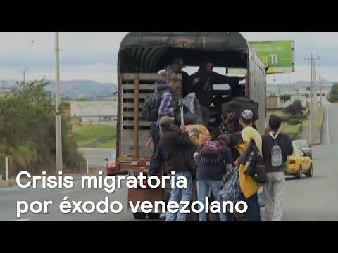 Crisis migratoria en Ecuador por éxodo venezolano - Foro Global