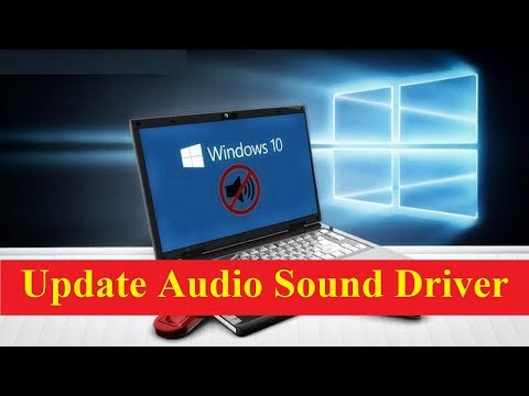 How to Update Audio Sound Driver Windows 10!! - Howtosolveit