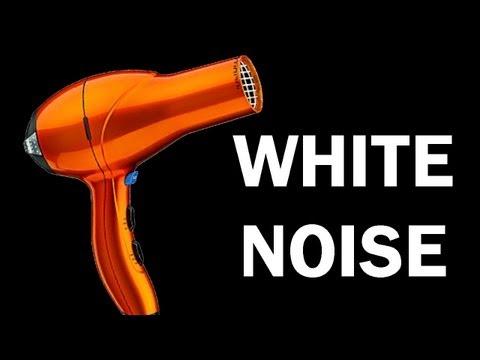 White Noise for babies, blow dryer ASMR 10 hours, relaxing video, sleep aide, hair dryer