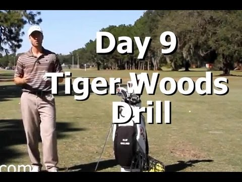 How to Practice Golf (Day 9) 9 Days to Amazing Ball Striking: Tiger Woods Drill