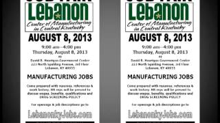 Job Fair in Lebanon On August 8, 2013