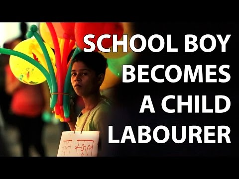 When a school Boy Becomes A child laborer (Social experiment)