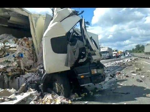 Best truck crashes, truck accident compilation 2014 Part 14