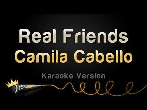 Camila Cabello - Real Friends (Karaoke Version)
