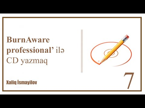 How to burn CD with BurnAware professional (tutorial)