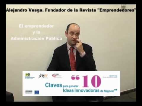Claves para generar ideas innovadoras de negocio, Alejandro Vesga