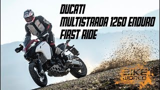 8. 2019 Ducati Multistrada 1260 Enduro First Ride, The 250kg Panigale On Stilts