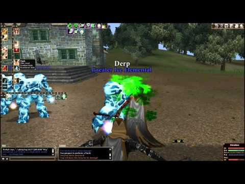 Dark Ages Of Camelot – Gameplay 2 – PvP