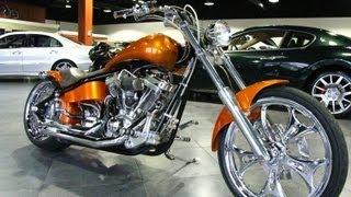 8. 2002 American Ironhorse Tejas SJ Custom Chopper