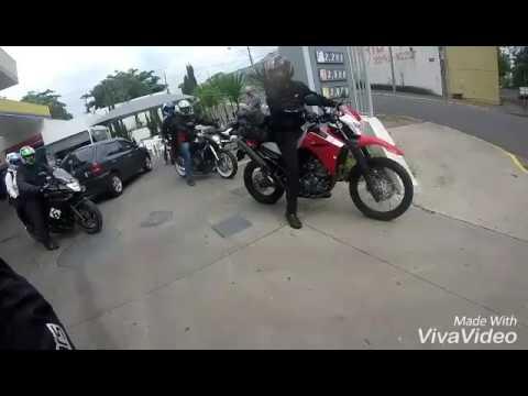 Encontro de moto e passeio em passos mg 20/08/2016
