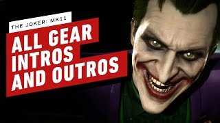 Mortal Kombat 11 - Joker: All Gear, Intros, and Outros by IGN