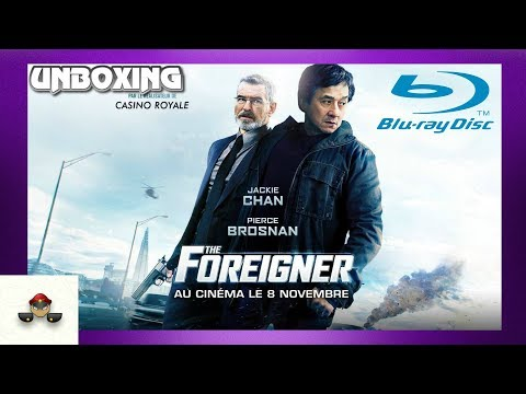 The Foreigner Jackie Chan Blu Ray Unboxing