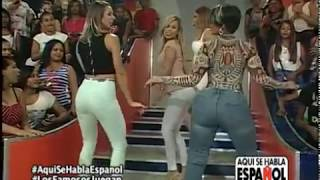 Video famosos vs famosas bailando a mas no poder MP3, 3GP, MP4, WEBM, AVI, FLV Juli 2018