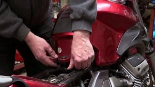 9. Moto Guzzi Breva 750 Air Cleaner Replacement