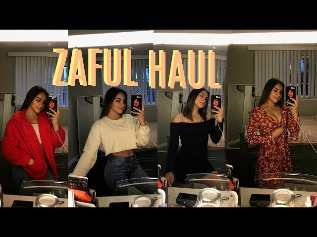 ZAFUL HAUL| FROM WINTER TO SUMMER