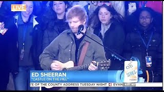 Ed Sheeran - Castle on the Hill - Today Show Video