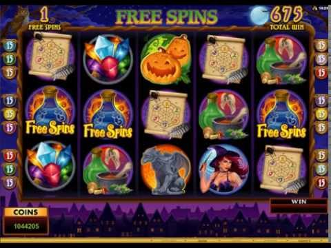 Lucky Witch video slot game | Royal Vegas Casino
