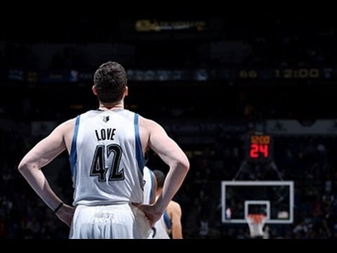 Video: Kevin Love Leads the Timberwolves Over the Pistons