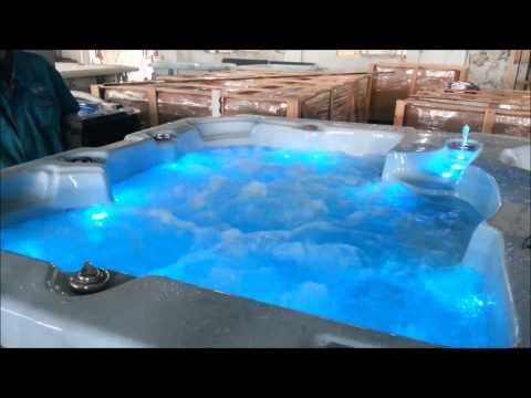 AQUASWIM SWIM SPA ESX-8820 Light Blue Marble – Dark Grey Permawood.mp4