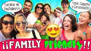 ¡¡Un día FAMILY FRIENDLY!! 📷 😁  ¡¡Nos visita la Familia CARAMELUCHI y la Familia COQUETES!!😍