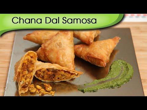 Chana Dal Samosa – Quick Monsoon Tea-Time Snacks Recipe By Ruchi Bharani