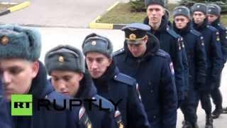 Погибшего в Сирии морпеха похоронили в Новочеркасске