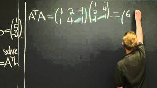Least Squares Approximation | MIT 18.06SC Linear Algebra, Fall 2011