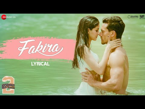 Fakira - Lyrical| Student Of The Year 2 | Tiger Shroff, Tara& Ananya |Vishal & Shekhar|Sanam & Neeti