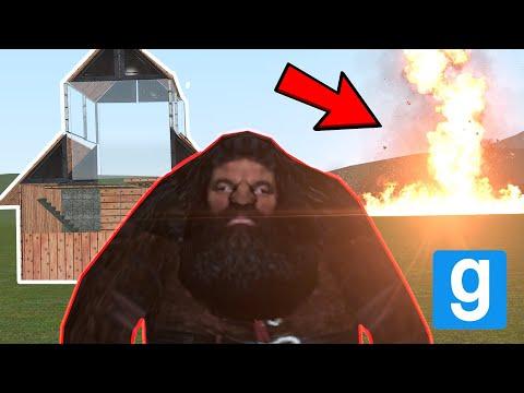 HAGRID VS DISASTERS! - Garry's mod W/THEFRIZKYFROG
