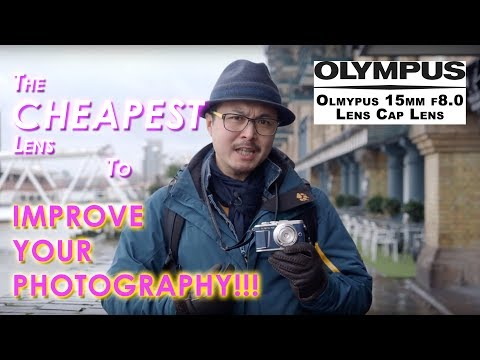 The Cheapest Lens To Improve Your Photography - Red35 Review Olympus Body Cap Lens 15mm F8.0