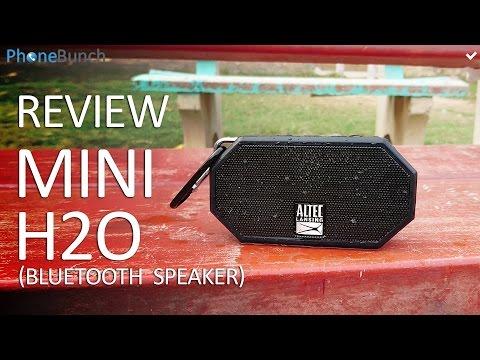 Altec Lansing Mini H2O Bluetooth Speakers Review