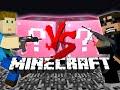 Minecraft: PINK CHARITY LUCKY BLOCK CHALLENGE | Paintball Battle
