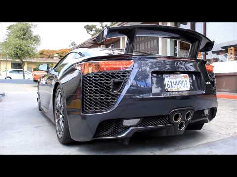 Lexus LFA Nurburgring Edition in Carmel, California