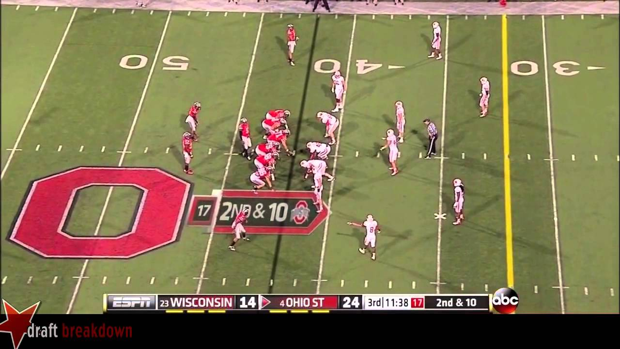 Marcus Hall vs Wisconsin (2013)