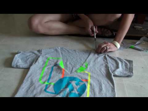 How to Cut a T-Shirt: Episode 2