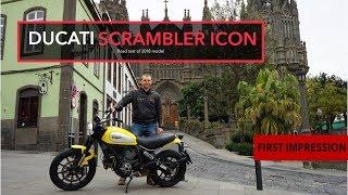 2. Ducati Scrambler Icon 2018 Test Ride