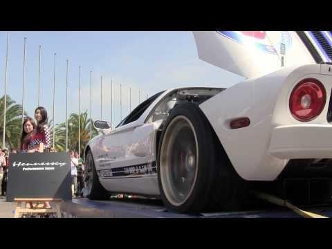 オートレジェンド2013 フォードGT 700馬力に挑戦
