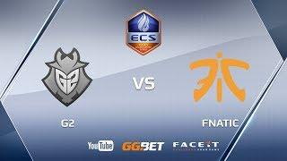 Fnatic vs G2 | ECS Season 5 Europe