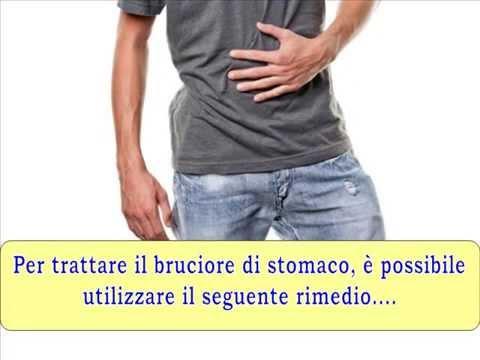 come curare il mal di stomaco!