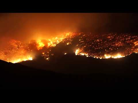 Ventura County Brush Fire Thousand Oaks