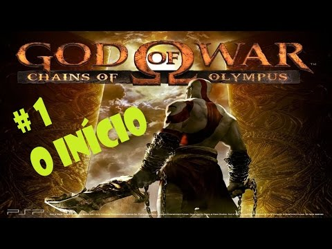 GOD OF WAR - CHAINS OF OLYMPUS - PSP - #1 O INÍCIO