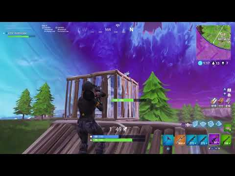 Fortnite Road To Solo Vs Squad  # 1 / RedHead