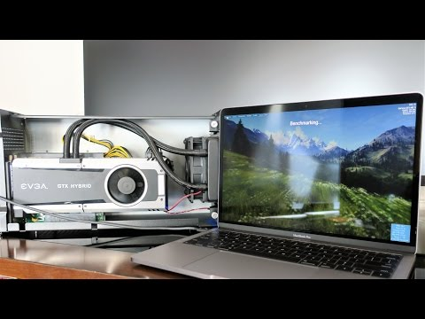 , title : 'AKiTiO Node Thunderbolt 3 eGPU Late 2016 MacBook Pro - GTX 980 ti Windows 10'
