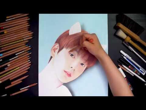 TXT (투모로우바이투게더) 'Sketching Film' - 수빈 (SOOBIN) - Thời lượng: 93 giây.