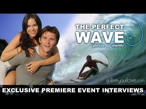 The Perfect Wave - Cast & Crew Interviews + Audience Reactions