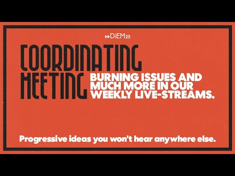 Coordinating Collective Teleconference, January 14 2021   DiEM25