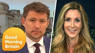Video Ann Coulter Clashes With Ben Shephard Over Anti-Muslim Tweets | Good Morning Britain MP3, 3GP, MP4, WEBM, AVI, FLV April 2018