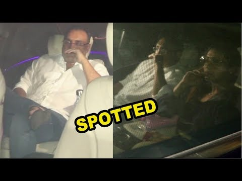 Rani Mukerji & Aditya Chopra Spotted At Karan Johar House